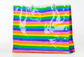 Colorful plastic bag. Stock Images