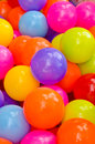 Colorful plastic balls many background Stock Photos