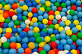 Colorful plastic balls photo of Royalty Free Stock Photography