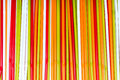 The colorful plastic tubes Royalty Free Stock Photo
