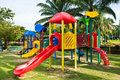 Colorful playground Stock Image
