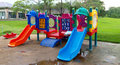 Colorful playground Royalty Free Stock Images