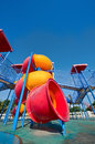 Colorful Playground for fun Royalty Free Stock Photography