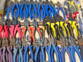 Colorful Pliers Royalty Free Stock Photos