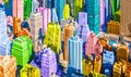 Colorful pop art styled New York City NYC Manhattan diverse diversity Royalty Free Stock Photo
