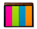 Colorful of postit Royalty Free Stock Photo