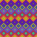 Colorful psychedelic pattern vibrant multicolored psy art backdrop Royalty Free Stock Images