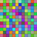 Colorful rag pattern Stock Photography