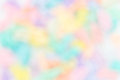 Colorful rainbow blur background Royalty Free Stock Photo