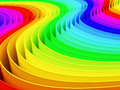 Colorful rainbow color background Royalty Free Stock Image