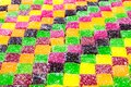 Colorful rainbow colored jelly candies. Juicy colorful jelly sweets