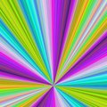 Colorful ray burst background - vector design Royalty Free Stock Photo