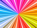 Colorful Rays Background Stock Photo