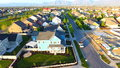 Colorful Residential Community Royalty Free Stock Photo
