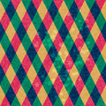 Colorful Rhombus, Seamless pattern Royalty Free Stock Photography
