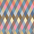 Colorful Rhombus. Seamless pattern, background Stock Photos