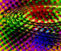 Colorful rippling background Stock Photo
