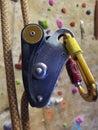 Colorful Rock Climbing Equipme...