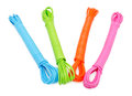 Colorful ropes Royalty Free Stock Photo