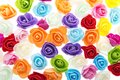 Colorful roses background Royalty Free Stock Photo