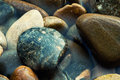 Colorful rounded stones Royalty Free Stock Photography