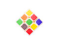 Colorful Rubik`s Cube