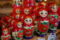 Colorful russian dolls - Matroshka Royalty Free Stock Images