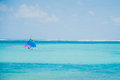 Colorful sailing boats on Caribbean sea Royalty Free Stock Photo