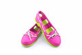 Colorful of Sandals shoes, flip flops.