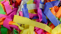 Colorful scarp of paper use for background Stock Images