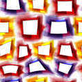 Colorful seamless background with deformed squares bright orange red and violet eps Stock Photo