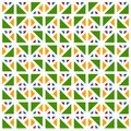 Colorful Seamless Pattern With Triangles, Abstract, Illustrator Geometric Pattern Wallpaper