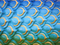 Colorful serpent or dragon scales texture background Royalty Free Stock Photo