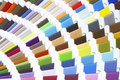 Colorful sew thread samples Royalty Free Stock Photos