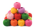 Colorful Sewing Thread Royalty Free Stock Photo