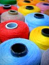 stock image of  Colorful Sewing Thread. Trimmings