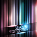 Colorful and shiny stripes background. With place for your text. Royalty Free Stock Photography