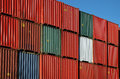 Colorful Shipping Container Royalty Free Stock Photo