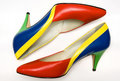 Colorful shoes Royalty Free Stock Photo