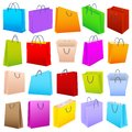 Colorful Shopping Bag Royalty Free Stock Photos