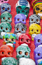 Colorful skulls Royalty Free Stock Photography