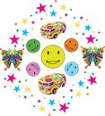 Colorful Smiles with Confettii and Toys