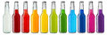 stock image of  Colorful soft drinks