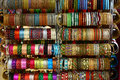 Colorful South Indian Bangles Stock Image