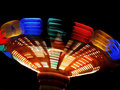 Colorful Spinning Ride Stock Photography