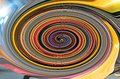 Colorful Spiral Fractal With D...