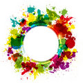 Colorful splash background Stock Images