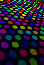 Colorful Spot Pattern Royalty Free Stock Photo