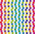Colorful squares. Vector. Royalty Free Stock Images