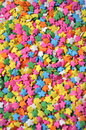 Colorful Star Sprinkles Royalty Free Stock Photo